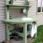 60 Awesome DIY Pallet Garden Bench and Storage Design Ideas (6)