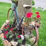 60 Creative DIY Garden Art From Junk Design Ideas (14)
