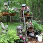 60 Creative DIY Garden Art From Junk Design Ideas (16)