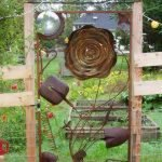 60 Creative DIY Garden Art From Junk Design Ideas (25)