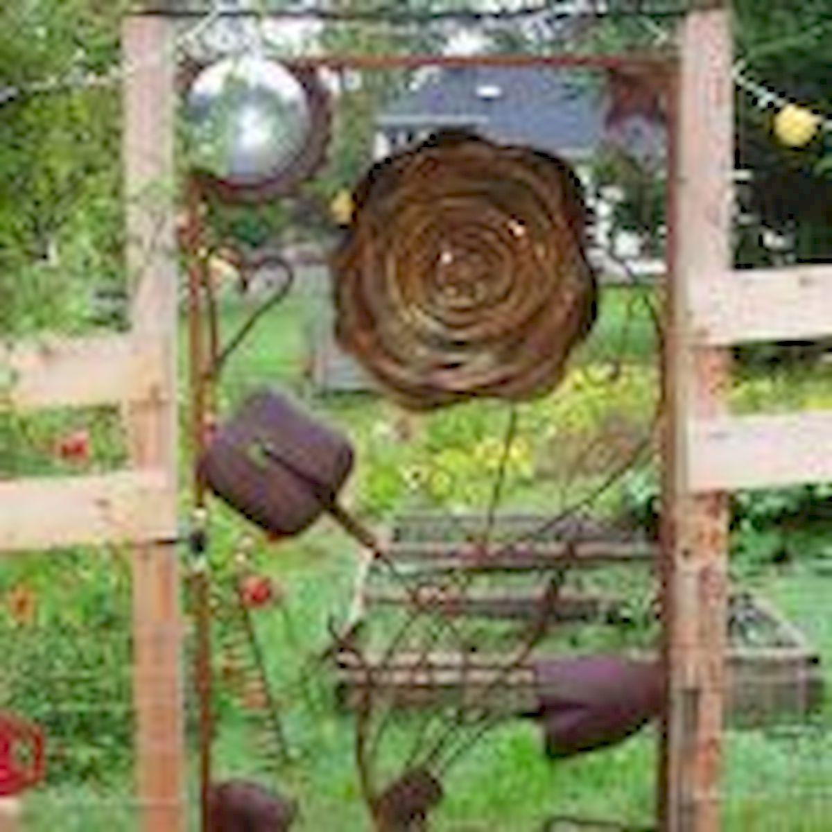 60 Creative DIY Garden Art From Junk Design Ideas (25)