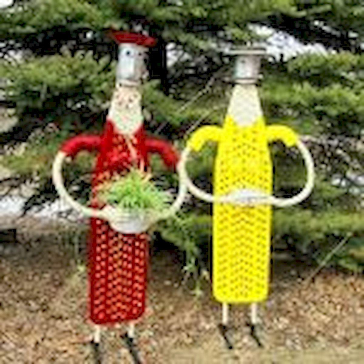 60 Creative DIY Garden Art From Junk Design Ideas (3)