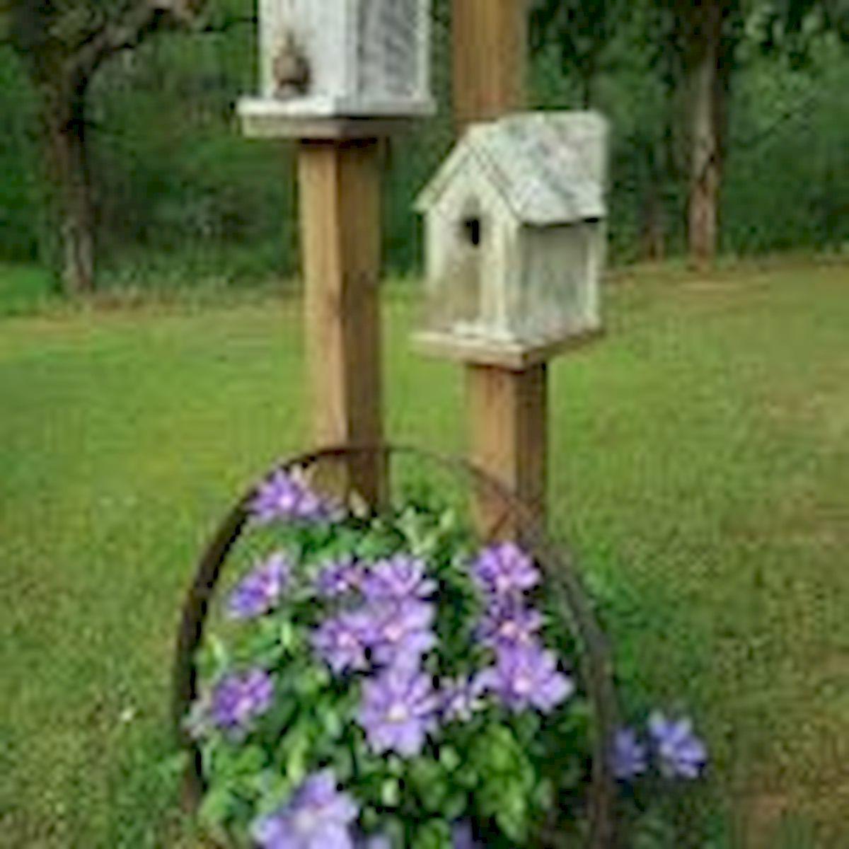 60 Creative DIY Garden Art From Junk Design Ideas (48)