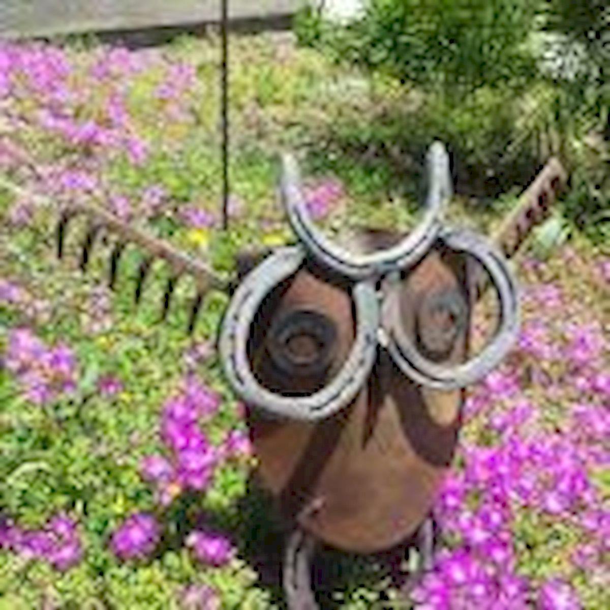 60 Creative DIY Garden Art From Junk Design Ideas (5)