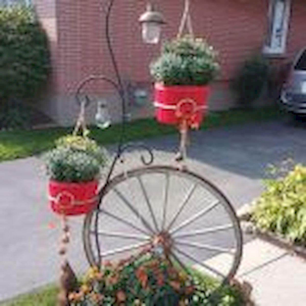 60 Creative DIY Garden Art From Junk Design Ideas (50)
