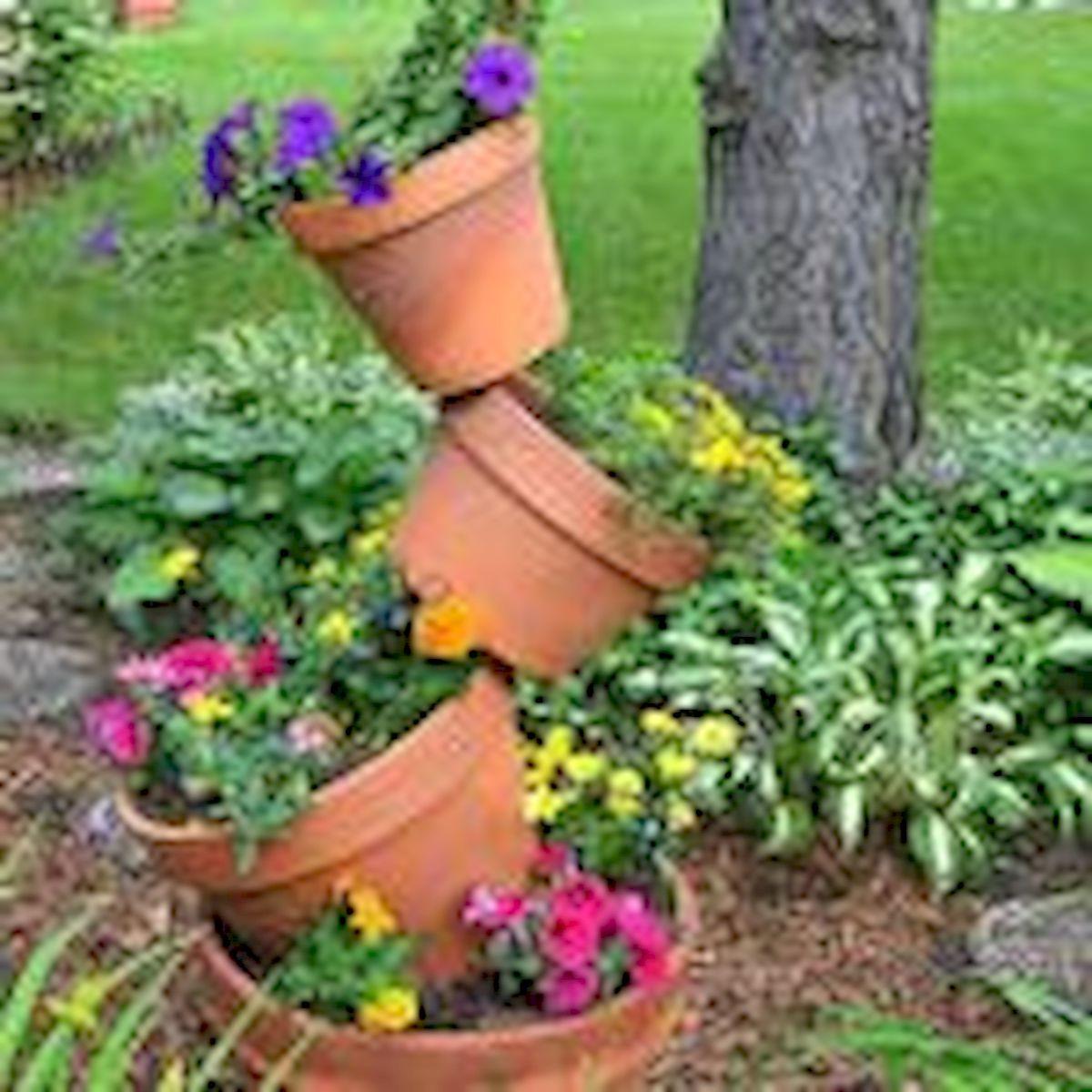 60 Creative DIY Garden Art From Junk Design Ideas (7)