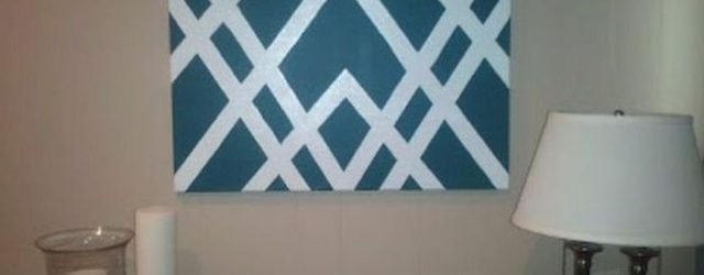 60 Easy DIY Canvas Painting Ideas for Decorate Your Home (21)