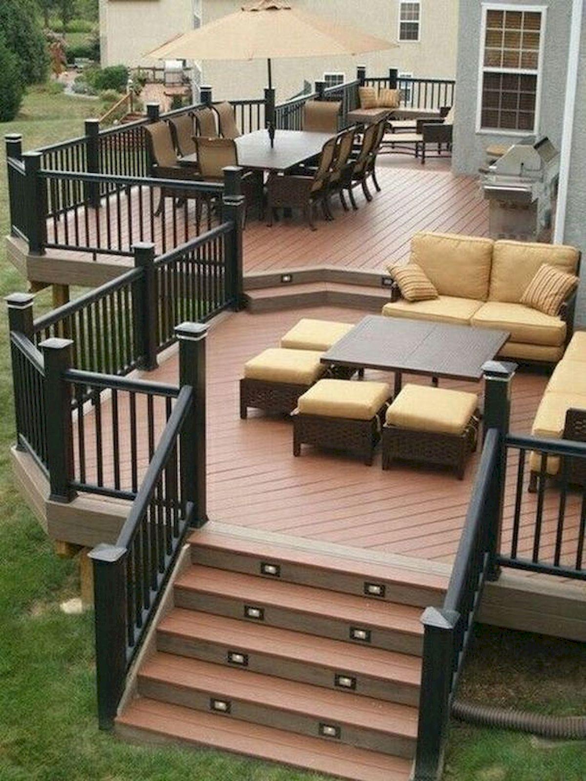 50 Best DIY Backyard Patio and Decking Design Ideas (10)