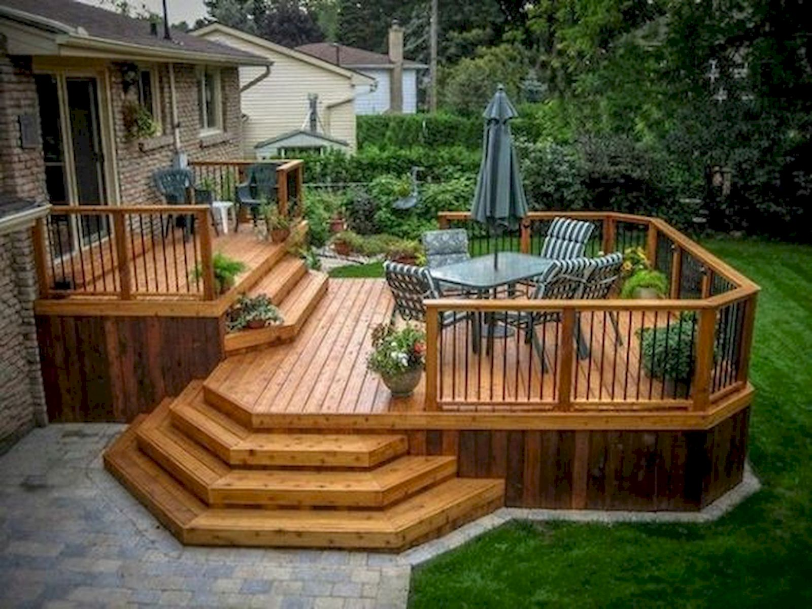 50 Best DIY Backyard Patio and Decking Design Ideas (12)