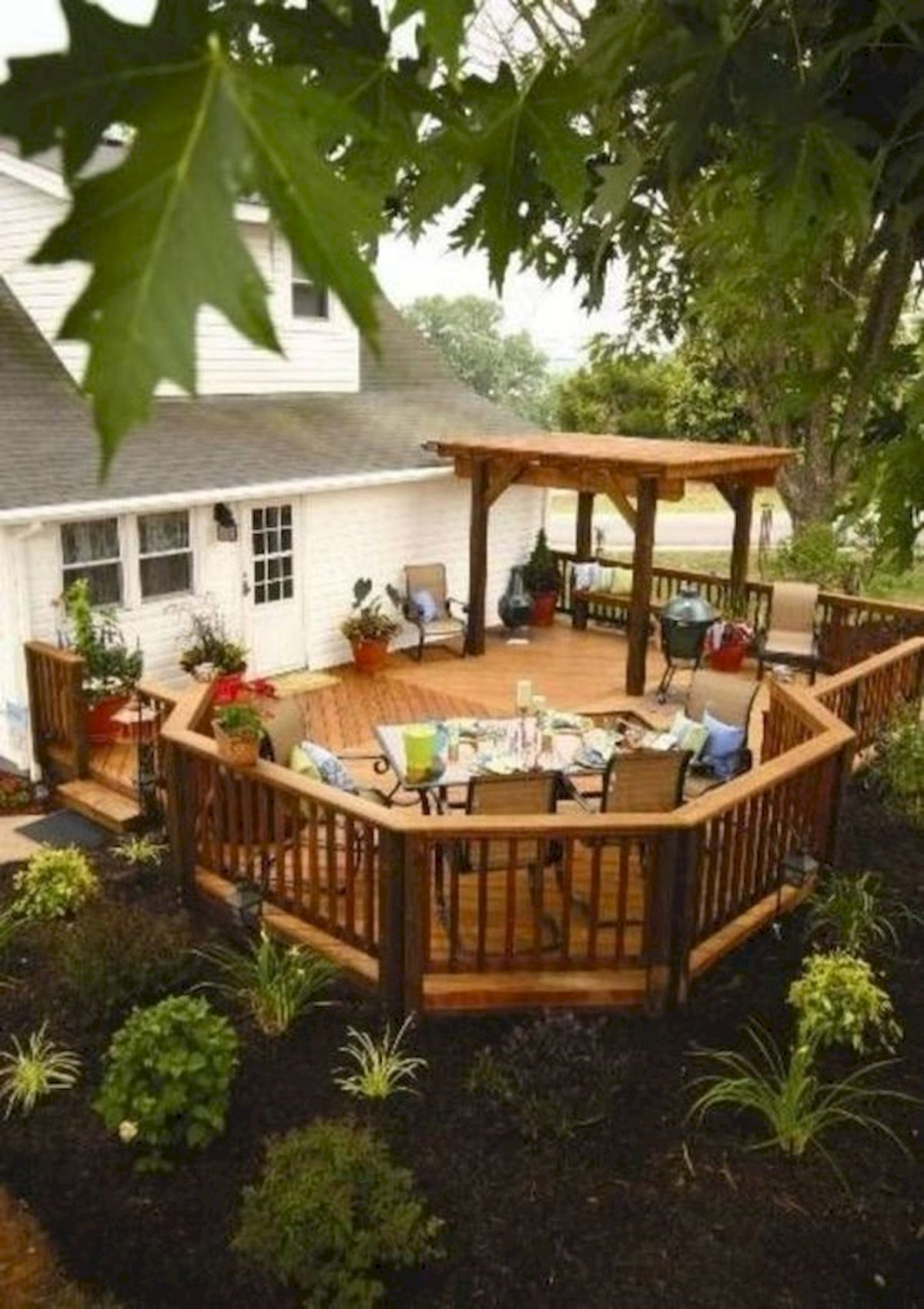 50 Best DIY Backyard Patio and Decking Design Ideas (17)