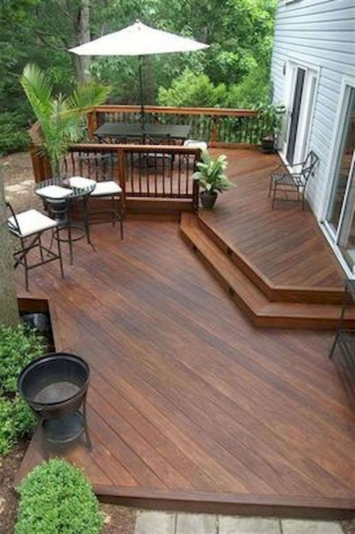50 Best DIY Backyard Patio and Decking Design Ideas (18)