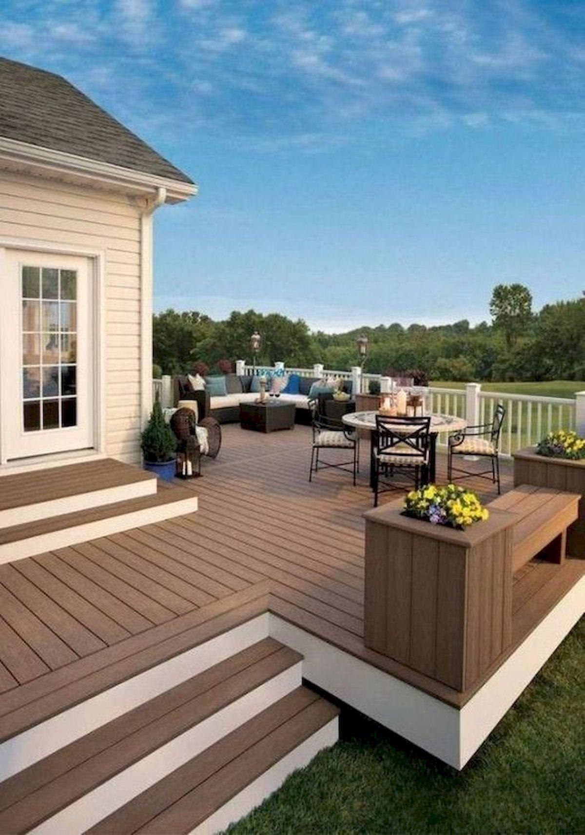 50 Best DIY Backyard Patio and Decking Design Ideas (25)