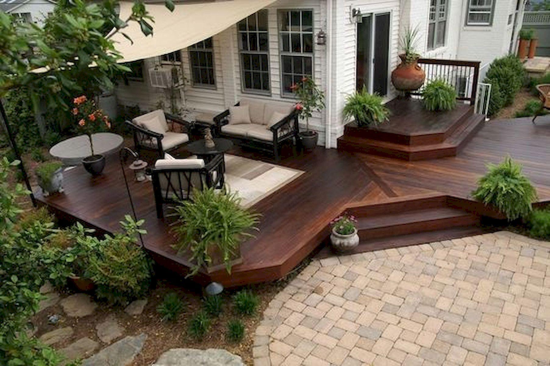 50 Best DIY Backyard Patio and Decking Design Ideas (5)
