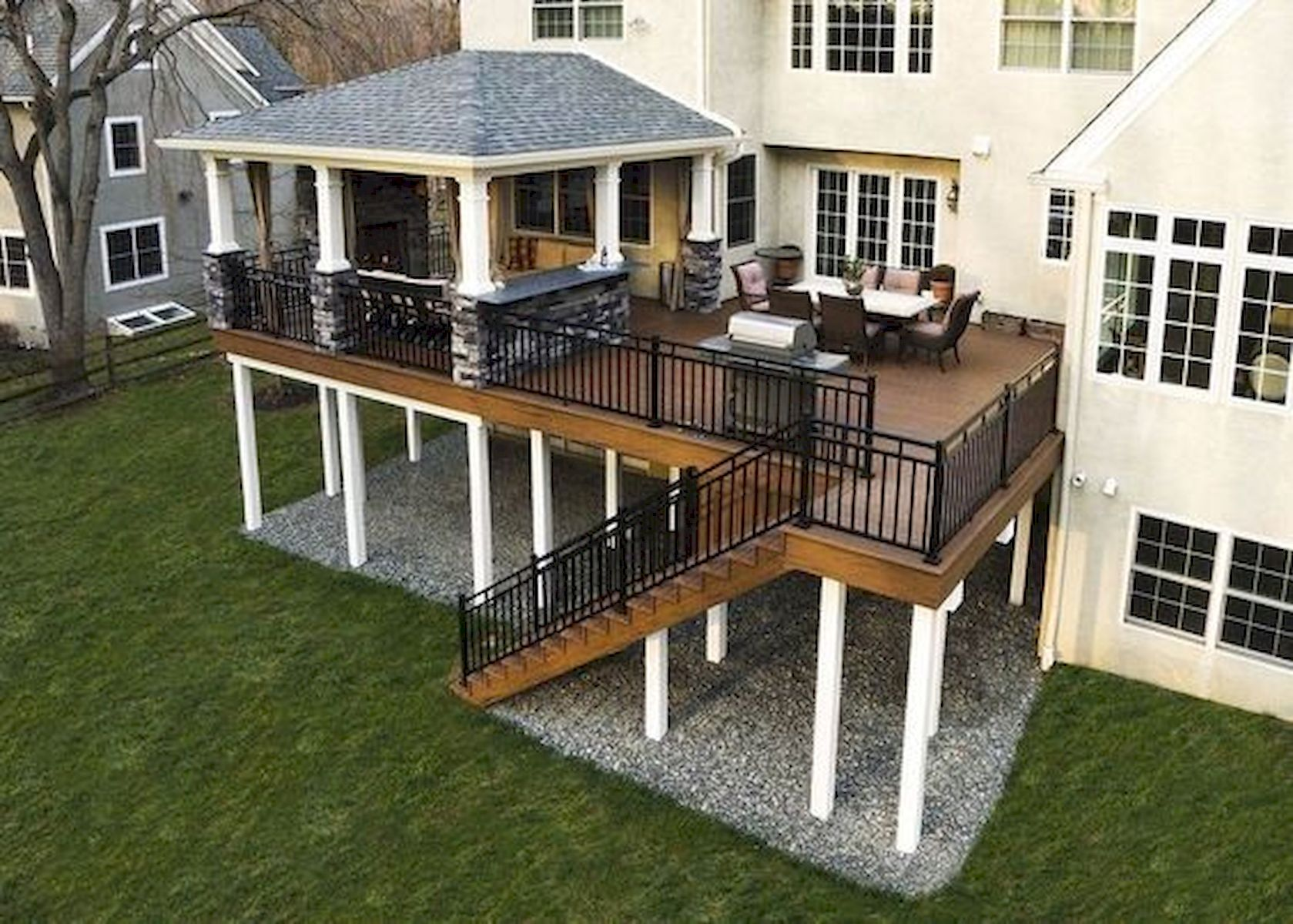 50 Best DIY Backyard Patio and Decking Design Ideas (50)