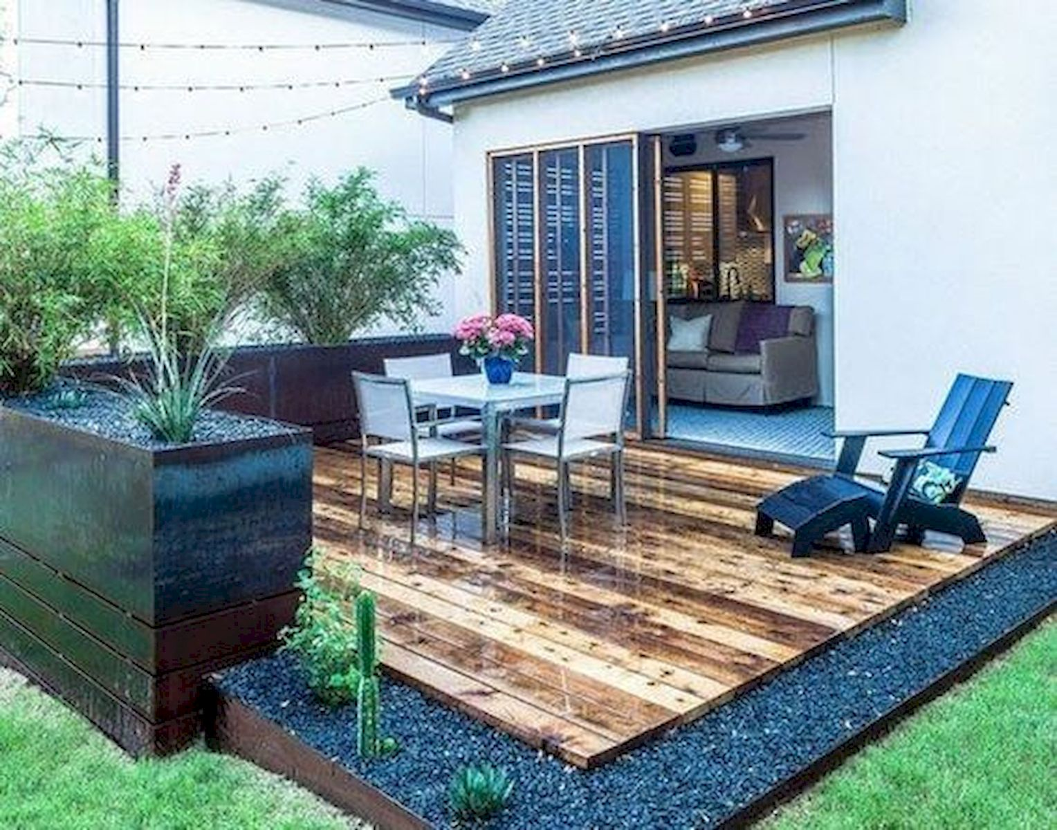 50 Best DIY Backyard Patio and Decking Design Ideas (51)