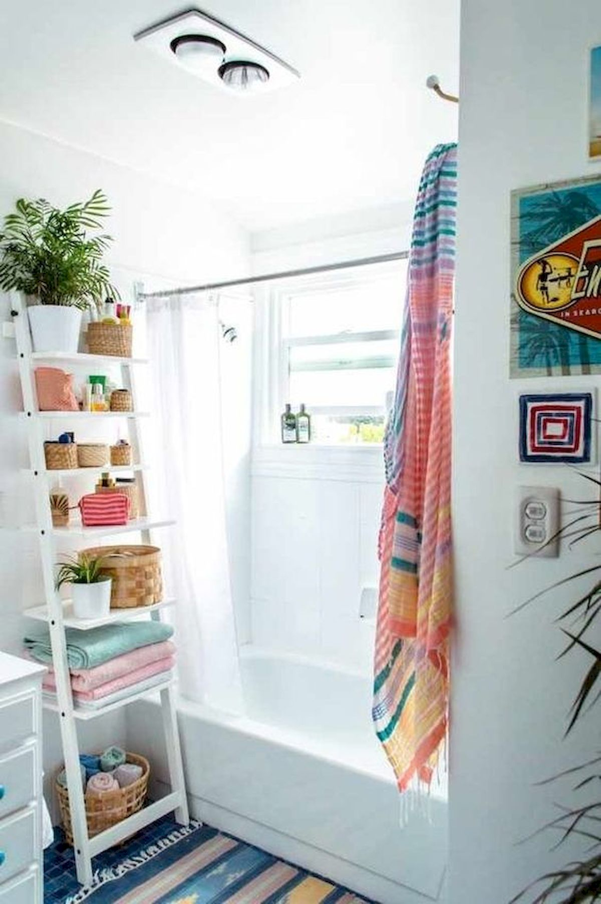 50 Best DIY Storage Design Ideas to Maximize Your Small Bathroom Space (25)