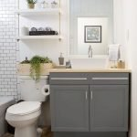 50 Best DIY Storage Design Ideas To Maximize Your Small Bathroom Space (26)