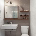50 Best DIY Storage Design Ideas To Maximize Your Small Bathroom Space (31)