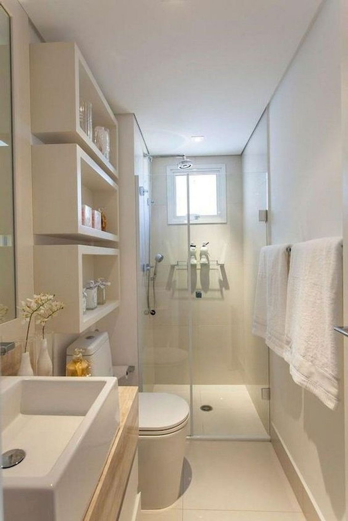 50 Best DIY Storage Design Ideas to Maximize Your Small Bathroom Space (35)