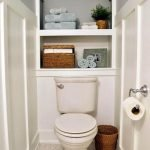 50 Best DIY Storage Design Ideas To Maximize Your Small Bathroom Space (41)