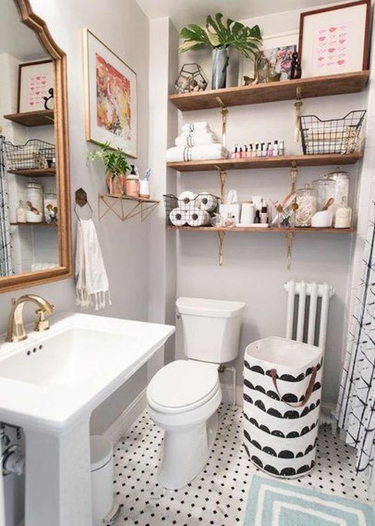 50 Best DIY Storage Design Ideas to Maximize Your Small Bathroom Space (45)