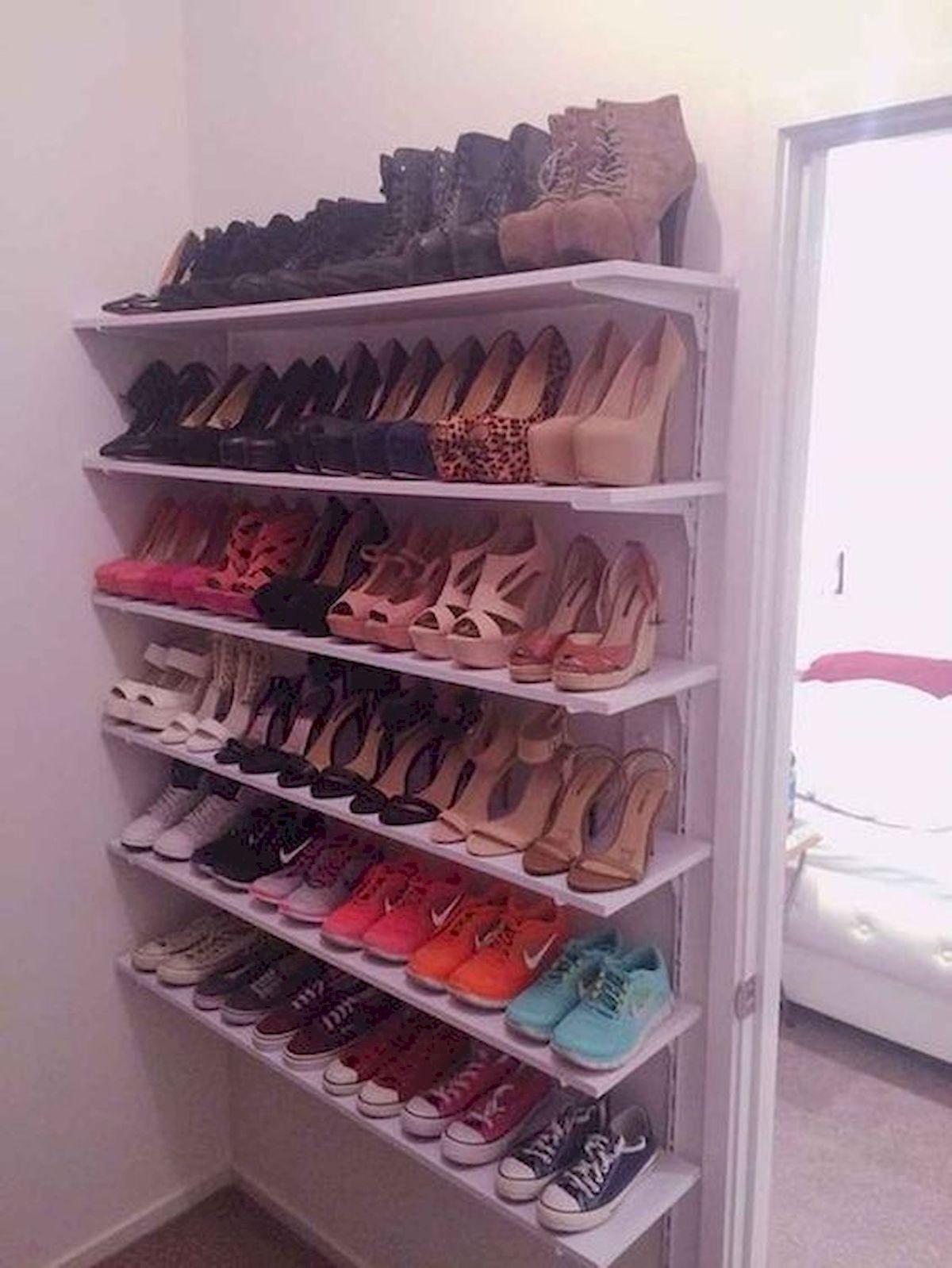 50 Fantastic DIY Shoes Rack Design Ideas (10)