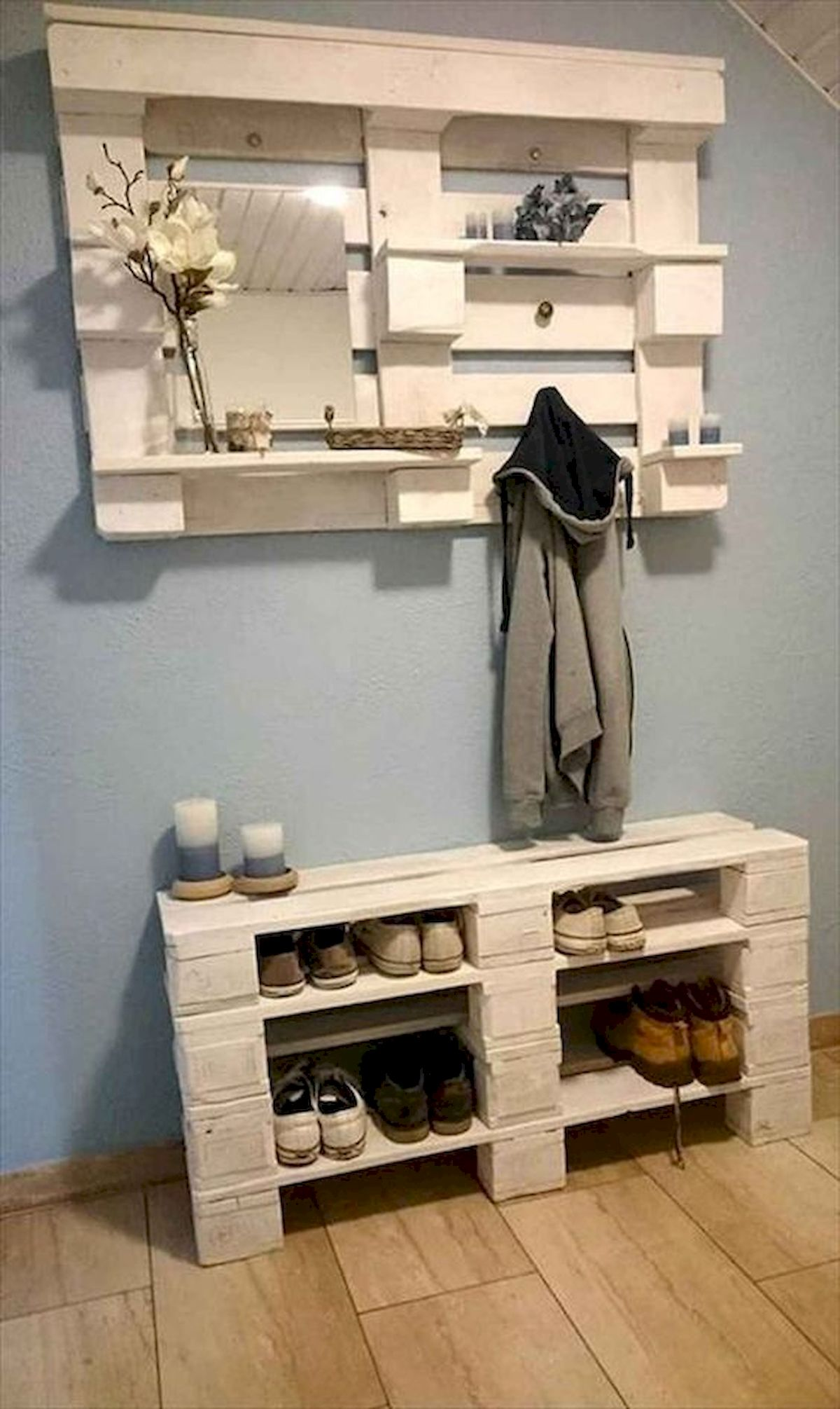 50 Fantastic DIY Shoes Rack Design Ideas (21)