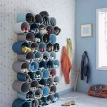 50 Fantastic DIY Shoes Rack Design Ideas (28)