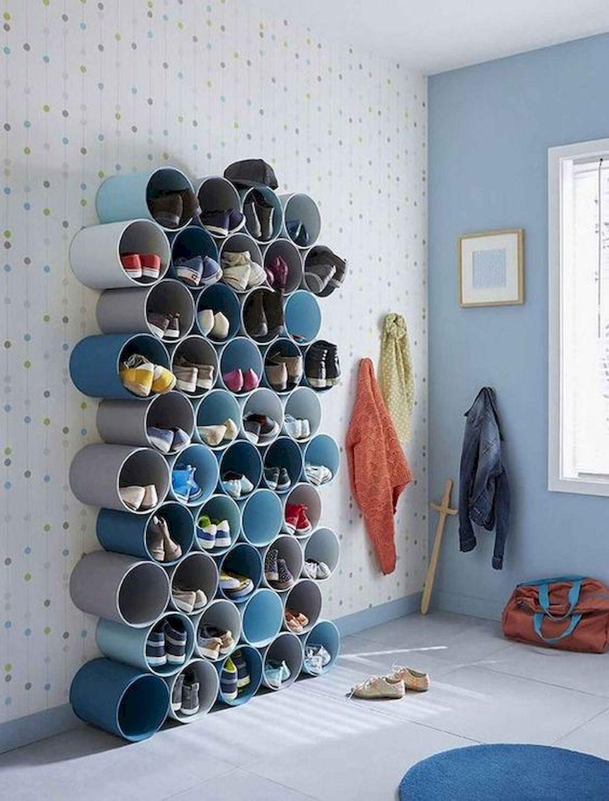 50 Fantastic DIY Shoes Rack Design Ideas (28)