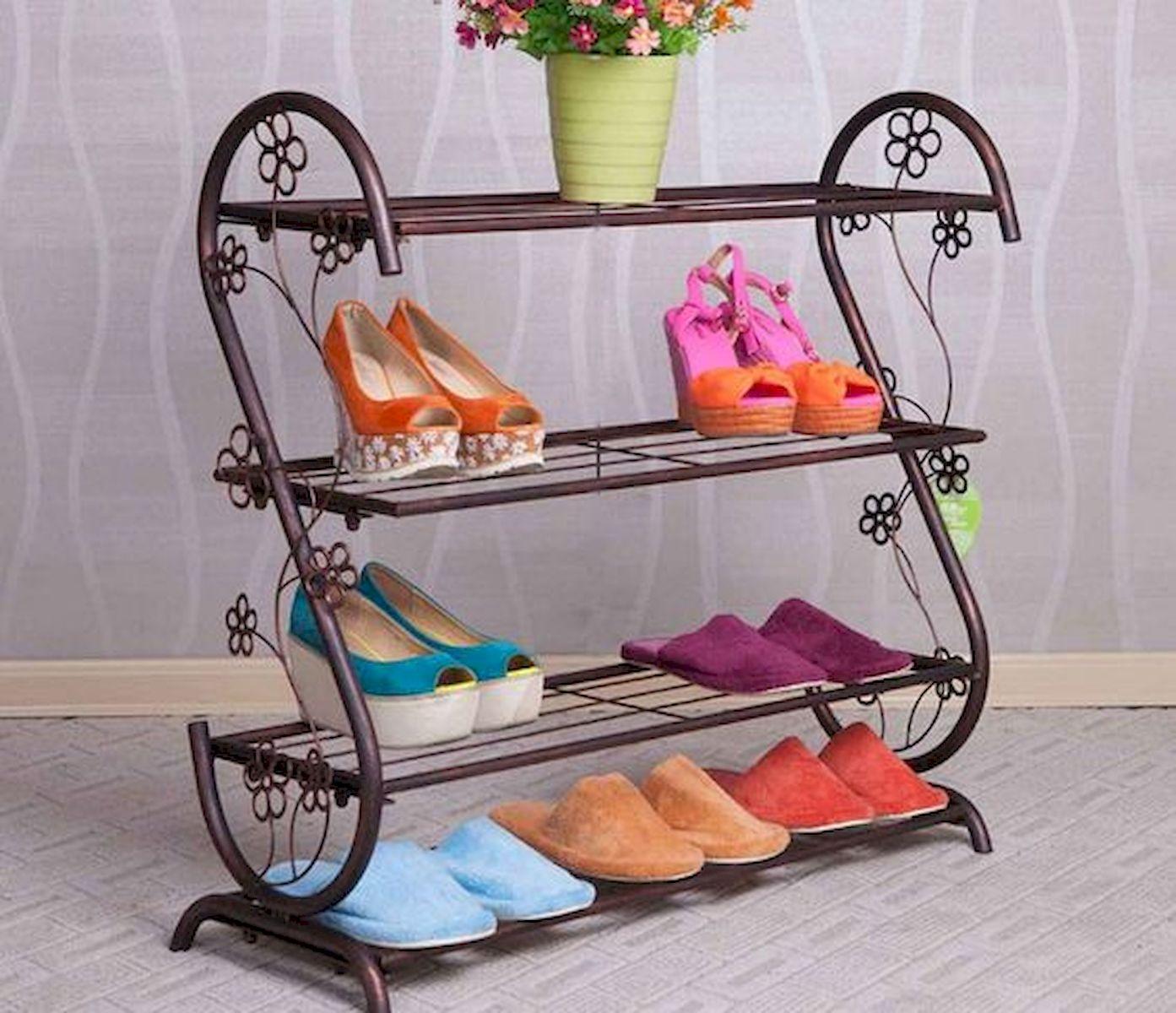 50 Fantastic DIY Shoes Rack Design Ideas (35)