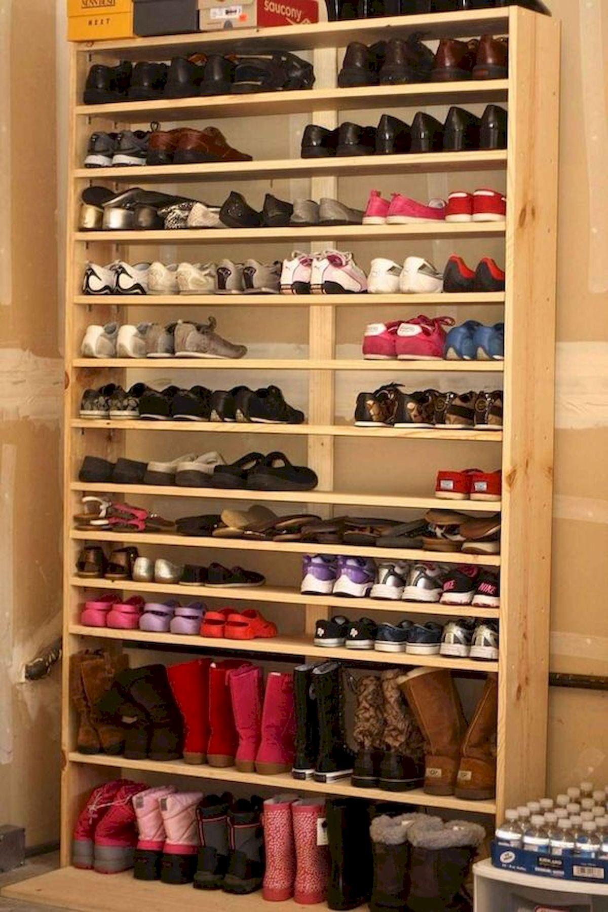 50 Fantastic DIY Shoes Rack Design Ideas (45)