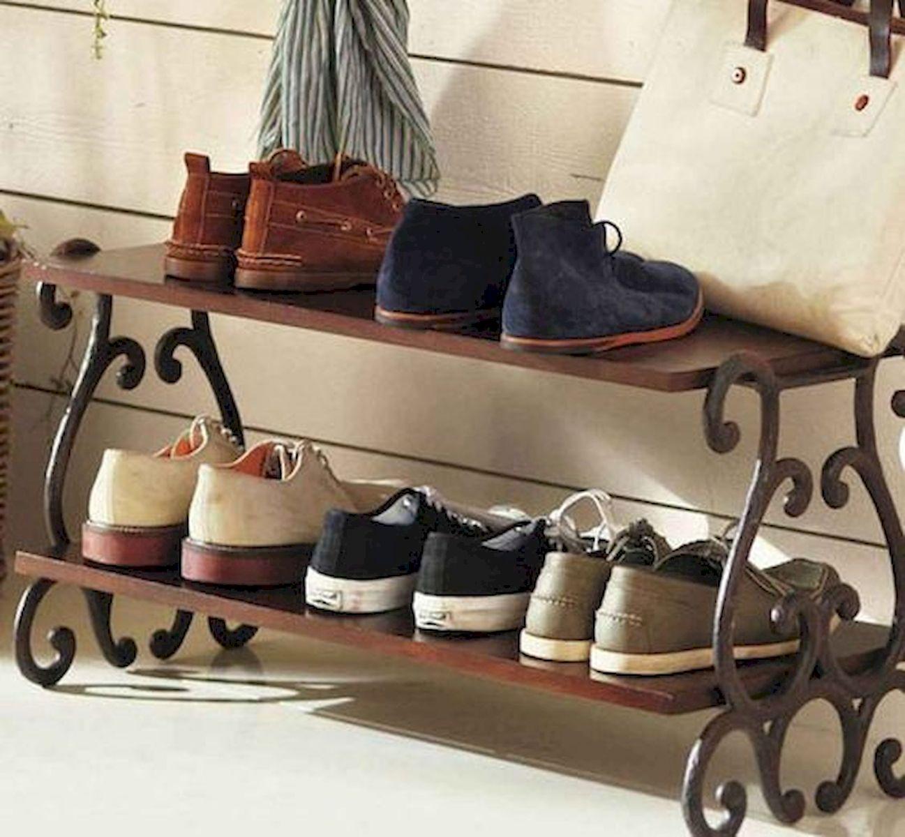 50 Fantastic DIY Shoes Rack Design Ideas (46)