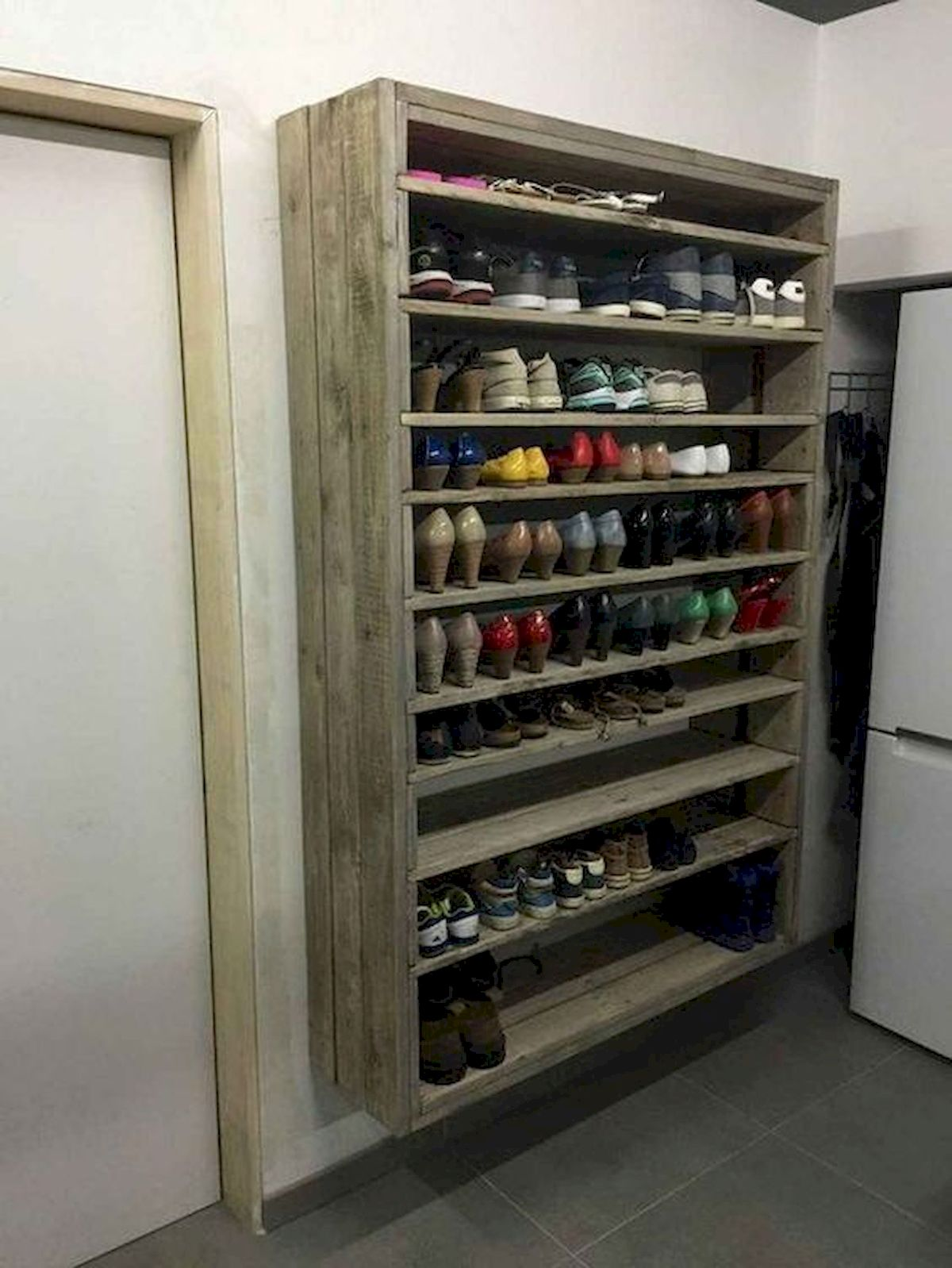 50 Fantastic DIY Shoes Rack Design Ideas (48)