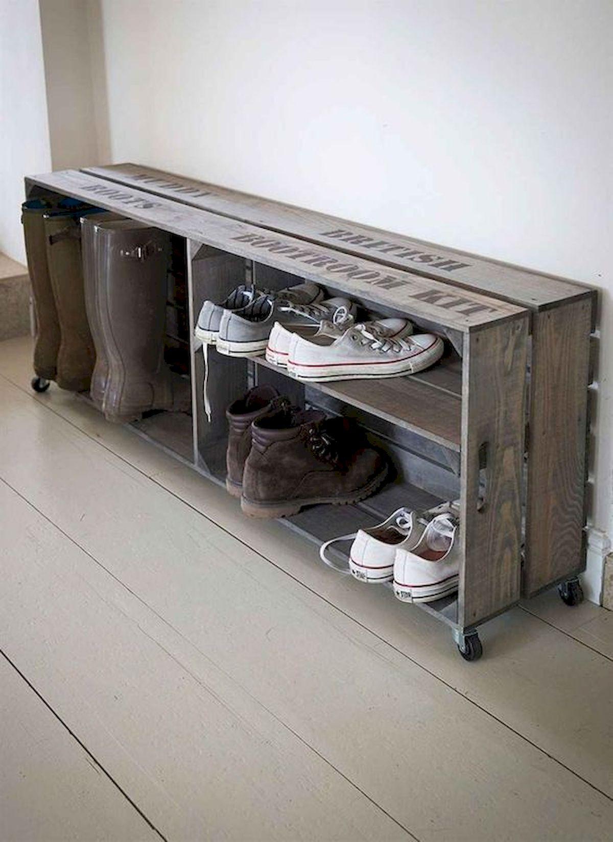 50 Fantastic DIY Shoes Rack Design Ideas (5)