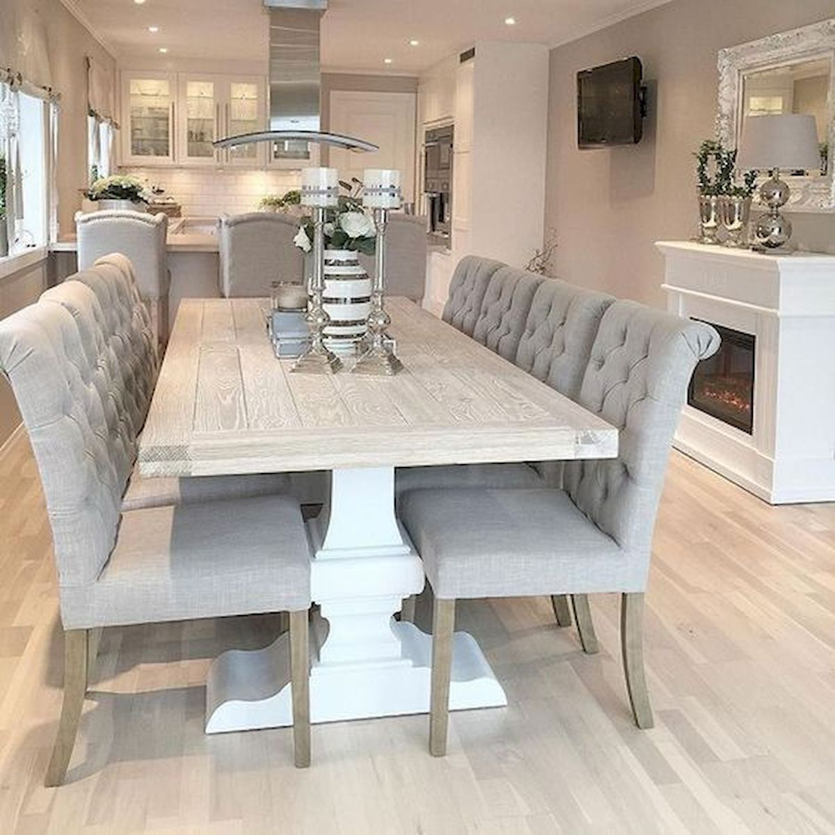 50 Nice DIY Furniture Projects for Dining Rooms Tables Design Ideas (10)