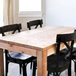 50 Nice DIY Furniture Projects for Dining Rooms Tables Design Ideas (14)