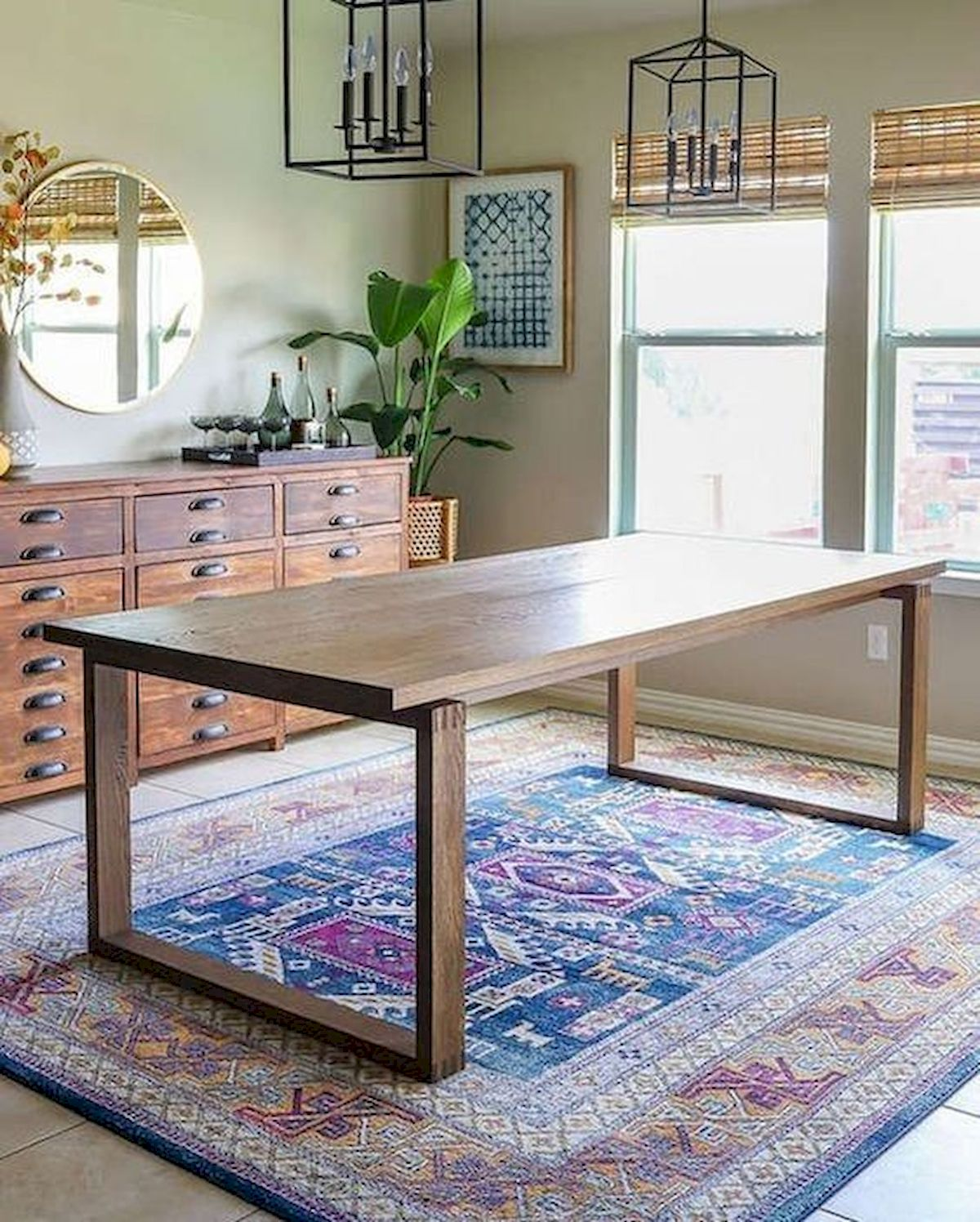 50 Nice DIY Furniture Projects for Dining Rooms Tables Design Ideas (15)