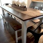 50 Nice DIY Furniture Projects For Dining Rooms Tables Design Ideas (18)