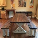 50 Nice DIY Furniture Projects For Dining Rooms Tables Design Ideas (21)