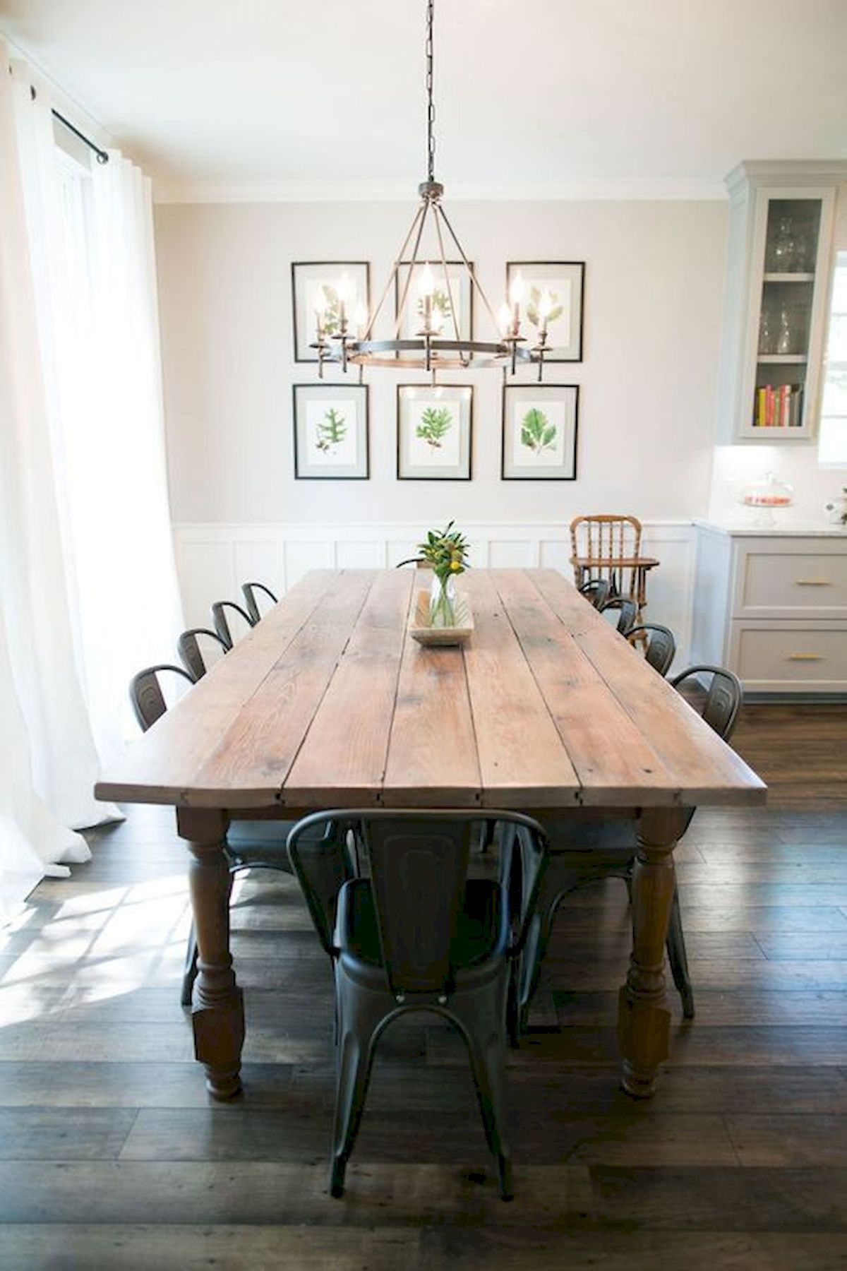 50 Nice DIY Furniture Projects for Dining Rooms Tables Design Ideas (22)