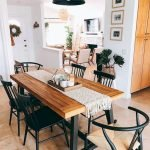 50 Nice DIY Furniture Projects for Dining Rooms Tables Design Ideas (27)