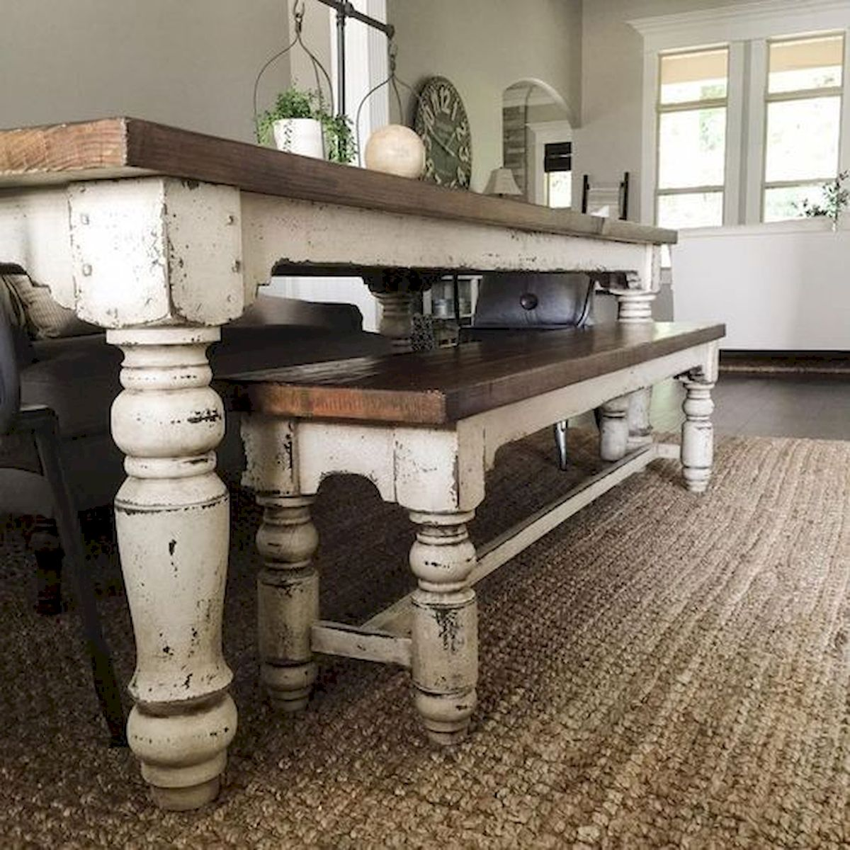 50 Nice DIY Furniture Projects for Dining Rooms Tables Design Ideas (29)