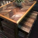 50 Nice DIY Furniture Projects for Dining Rooms Tables Design Ideas (39)
