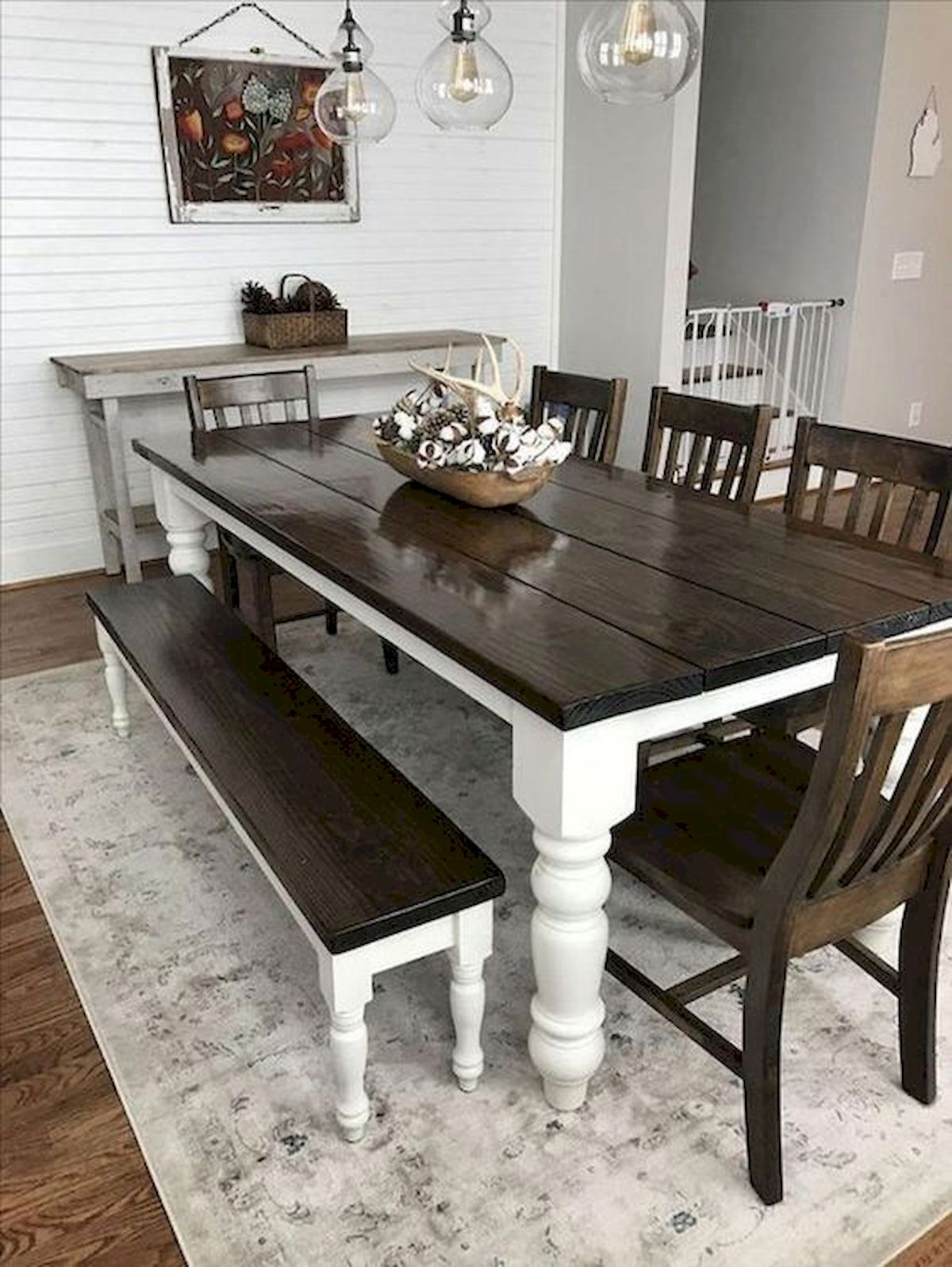 50 Nice DIY Furniture Projects For Dining Rooms Tables Design Ideas (4)