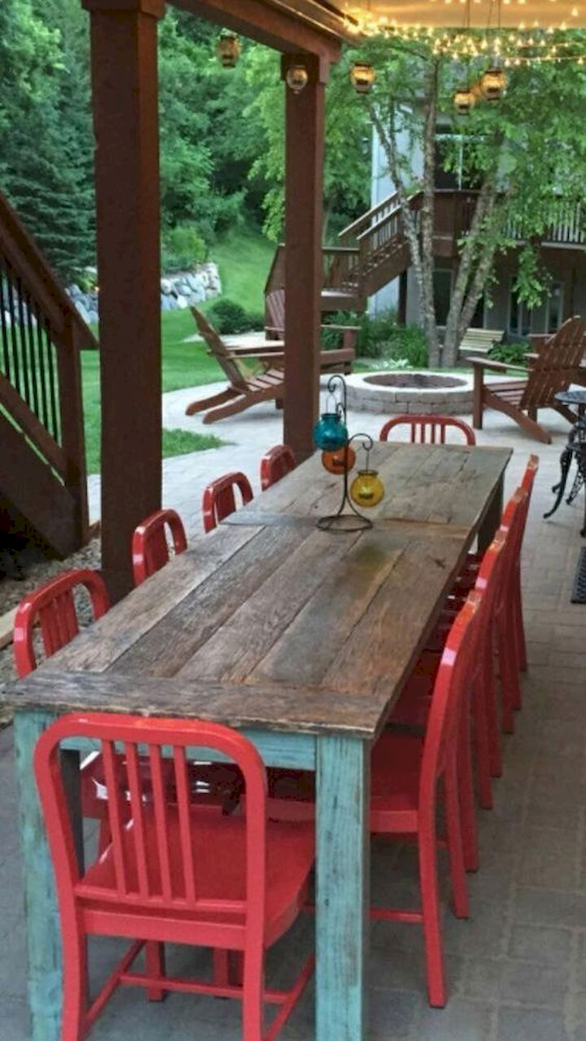 50 Nice DIY Furniture Projects for Dining Rooms Tables Design Ideas (40)