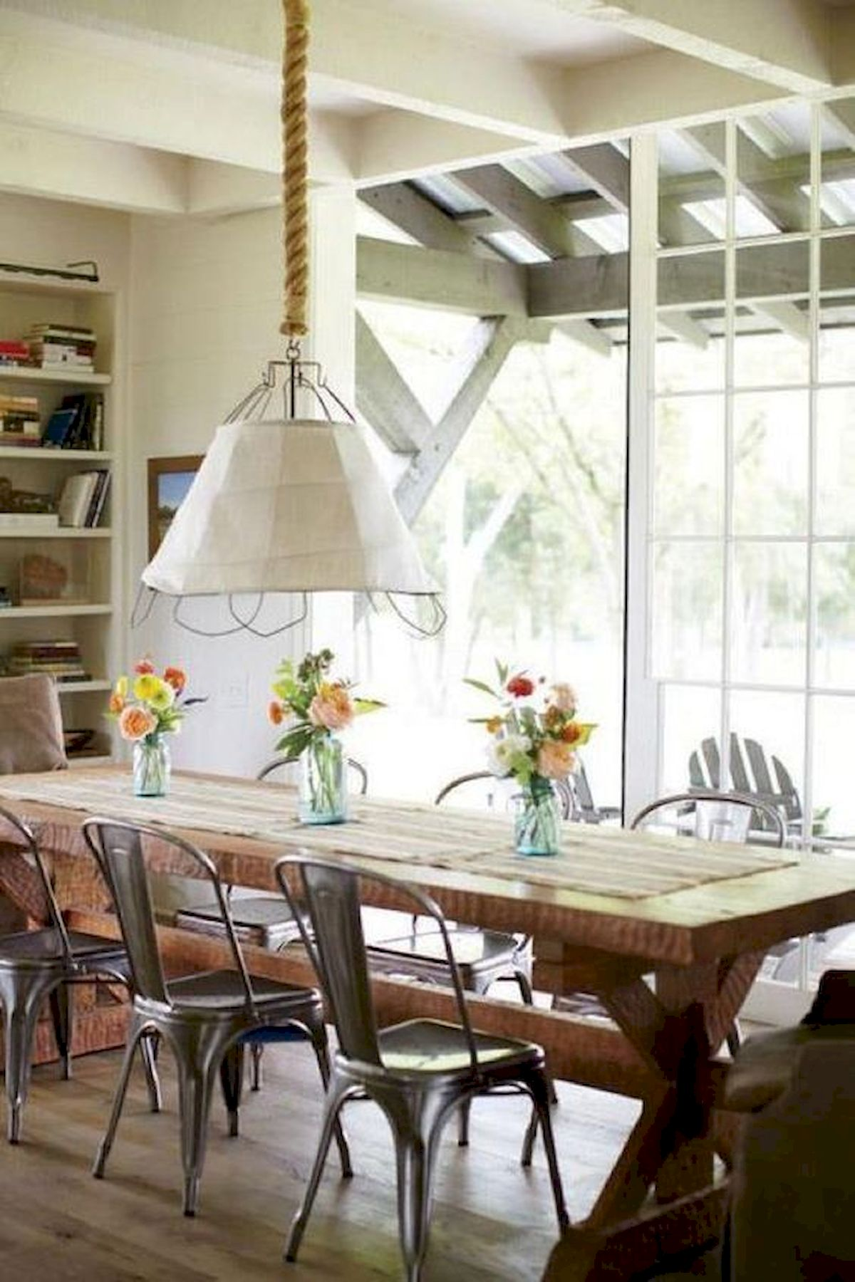 50 Nice DIY Furniture Projects for Dining Rooms Tables Design Ideas (43)