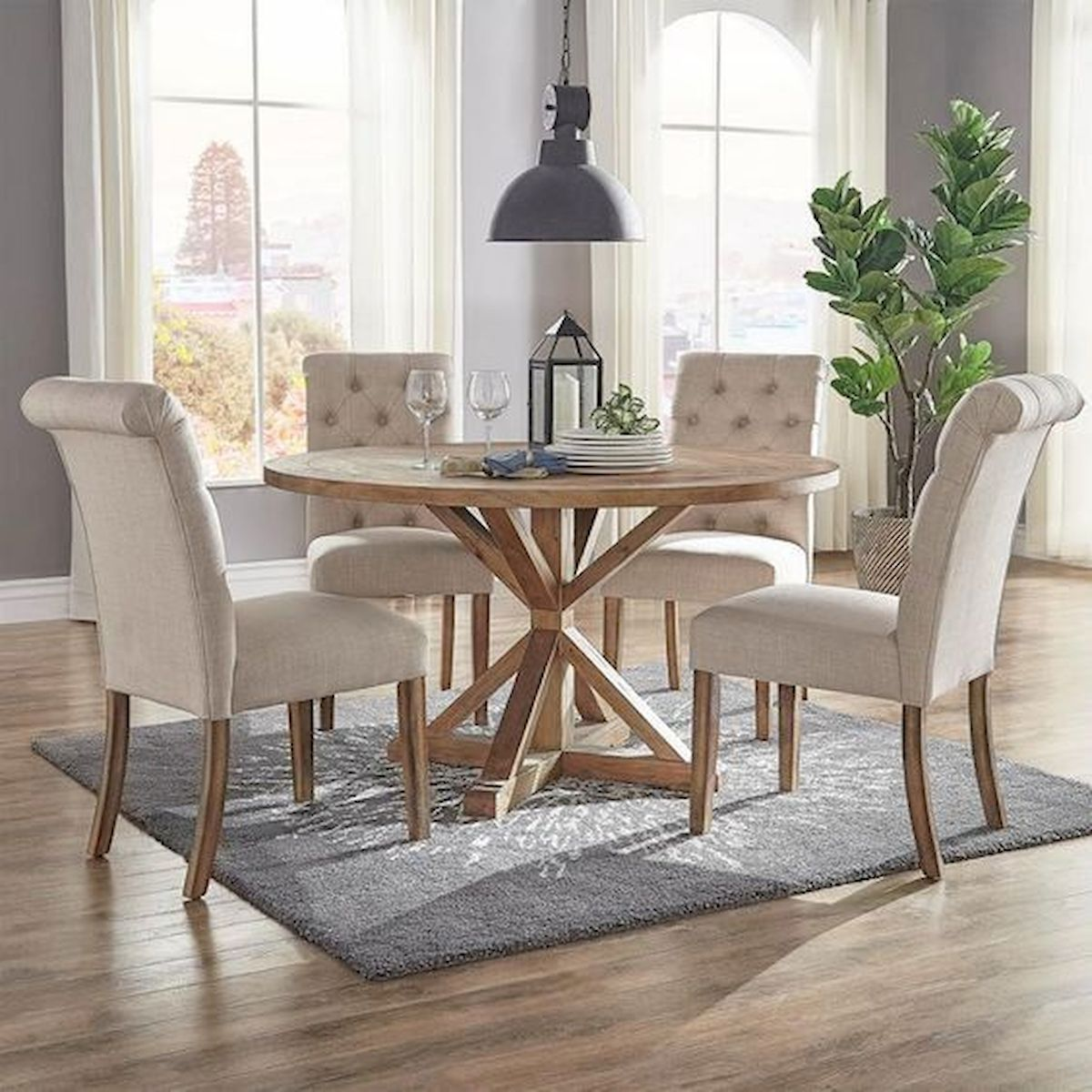 50 Nice DIY Furniture Projects for Dining Rooms Tables Design Ideas (45)