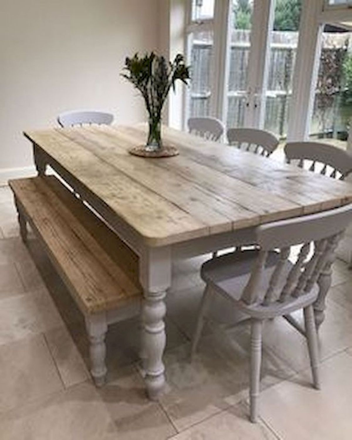 50 Nice DIY Furniture Projects for Dining Rooms Tables Design Ideas (6)