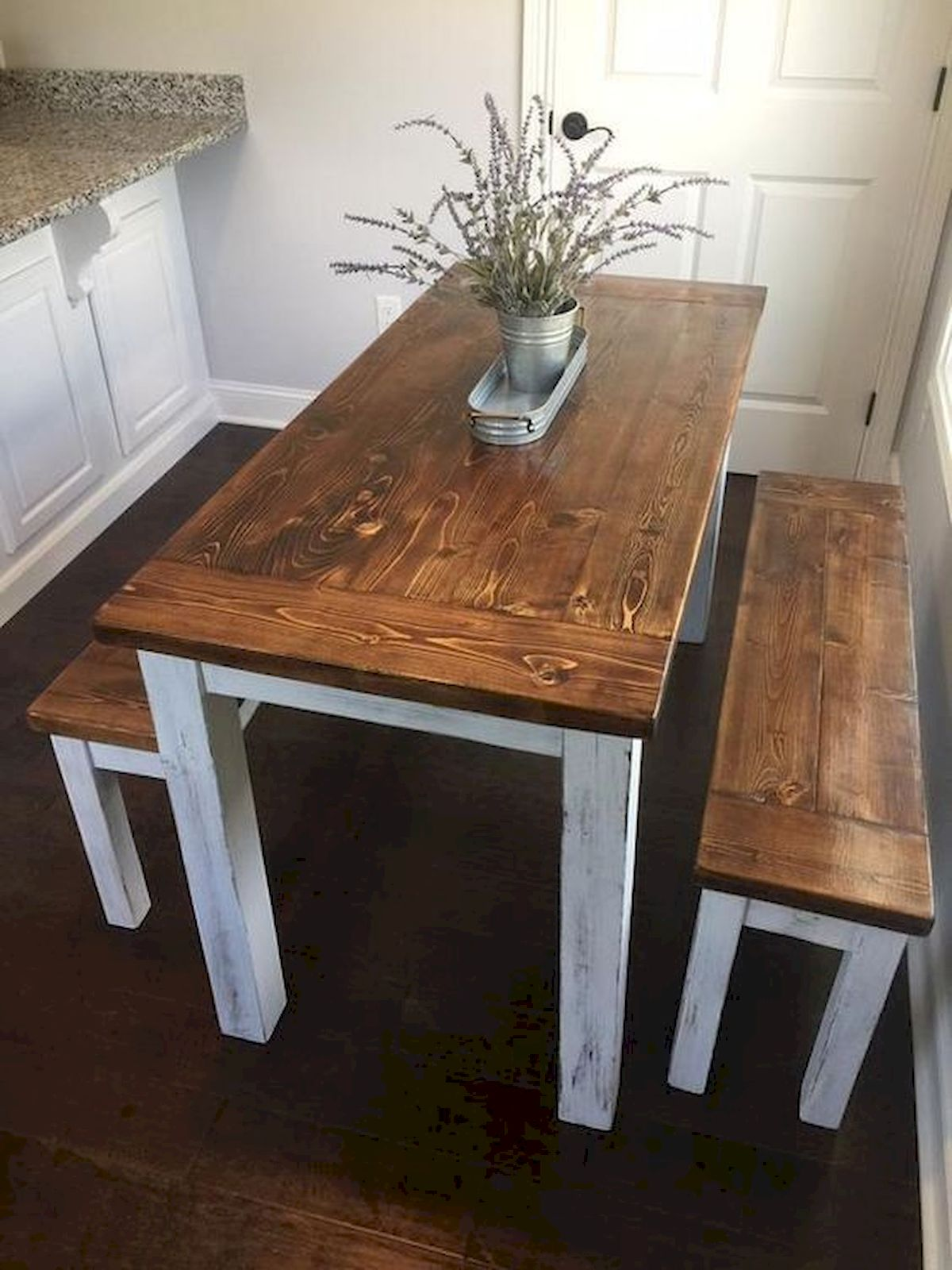 50 Nice DIY Furniture Projects for Dining Rooms Tables Design Ideas (7)