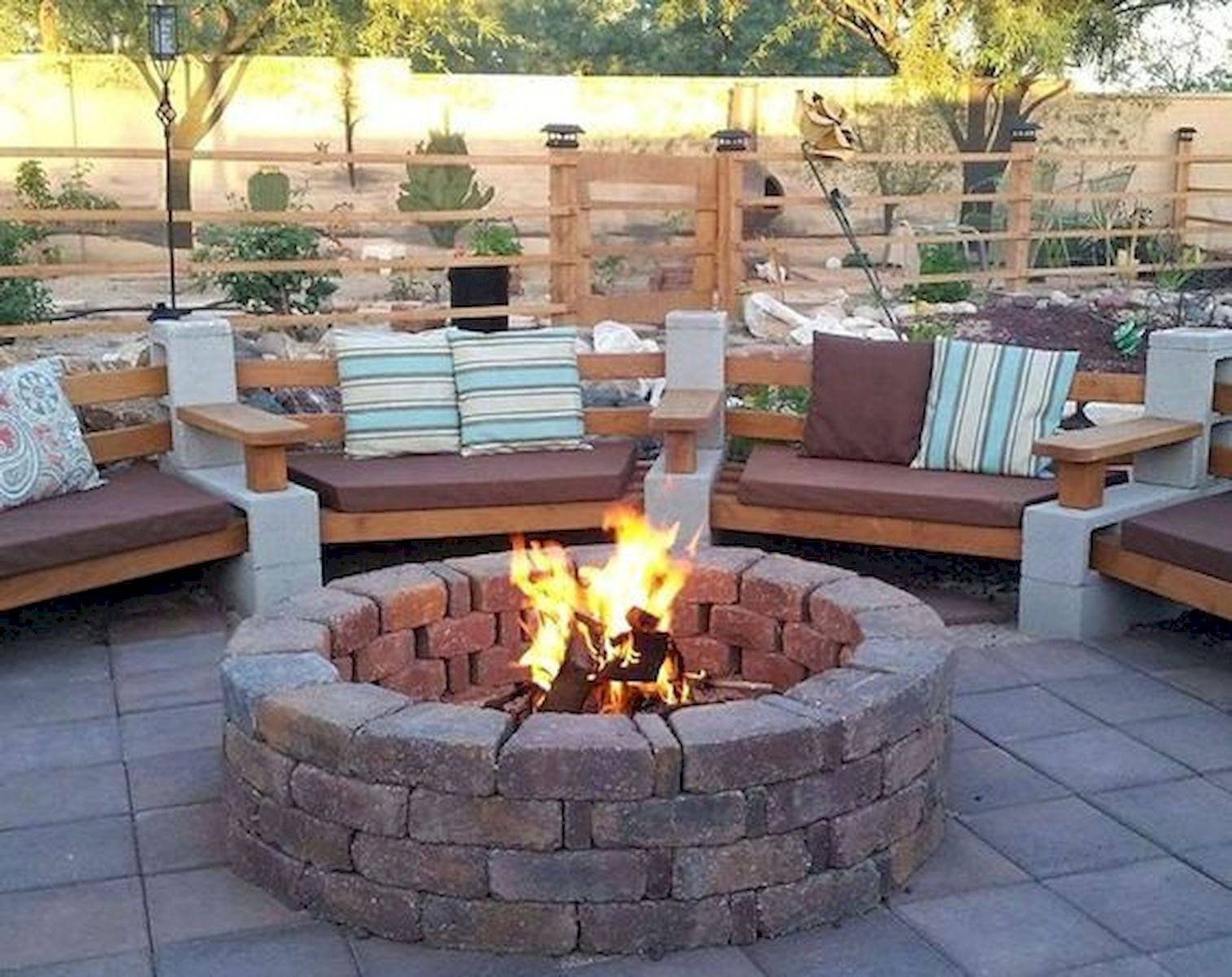 60 Amazing DIY Outdoor and Backyard Fire Pit Ideas On A ...